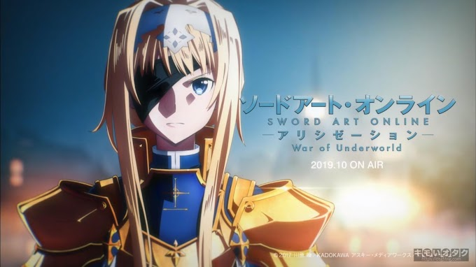 Sword Art Online: Alicization – War of Underworld (01-12End) Subtitle Indonesia Batch