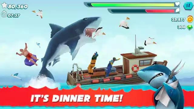 تحميل وتنزيل لعبة الأندرويد Hungry Shark Evolution
