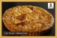 Cake Recipe - Almond Cake
