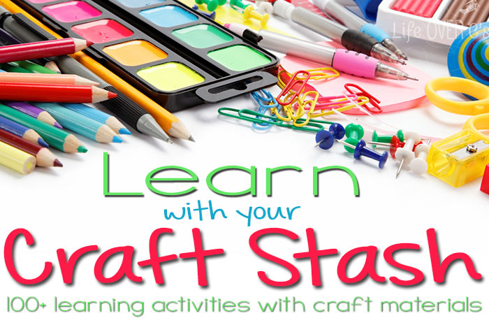 learn with your craft stash