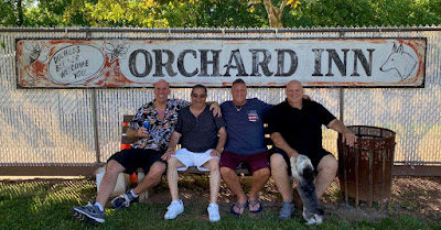 The Orchard sign lives!! June 13, 2020. Tommy Mondello... Greg Ponciano... Joey Lamberti... Billy McDermott