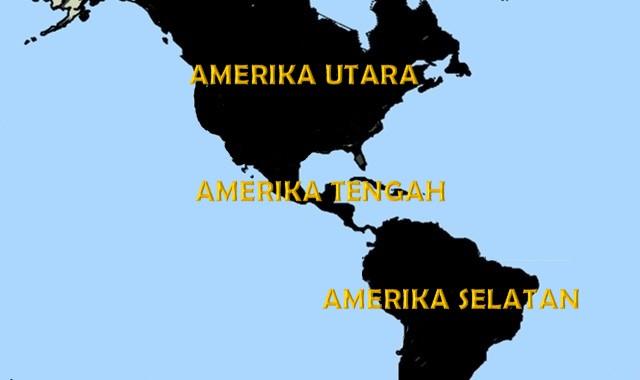 nama negara di benua amerika