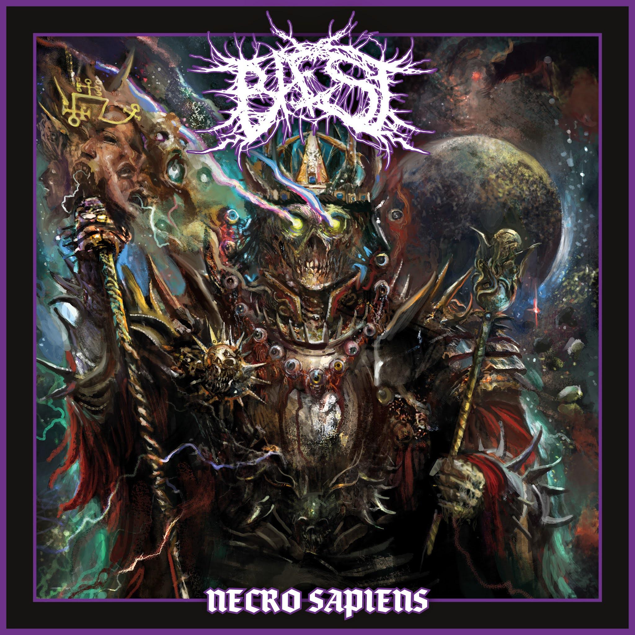 Baest Necro Sapiens Cover