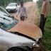 Acidente de carro no município de Baixa Grande