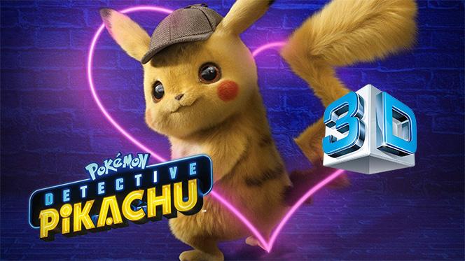 Pokémon Detective Pikachu (2019) 3D SBS Full 1080p Latino-Ingles