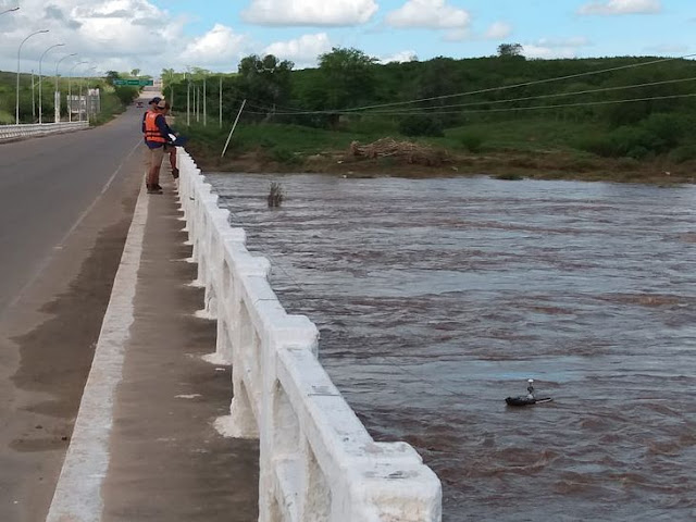 CPRM aponta que cheia no Rio Ipanema em Santana do Ipanema é a maior desde 1980