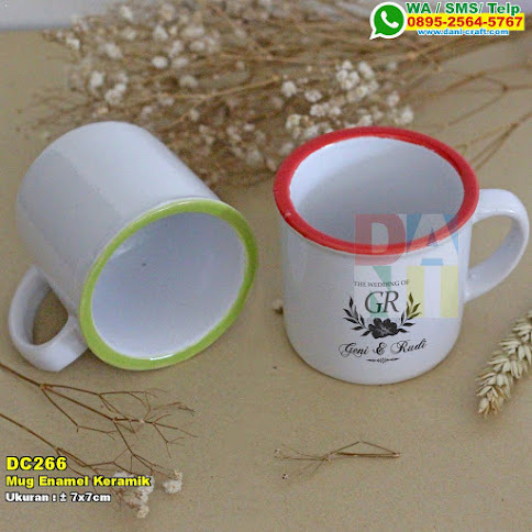 Mug Enamel Keramik