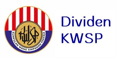 Kadar dividen KWSP EPF 2019 2020