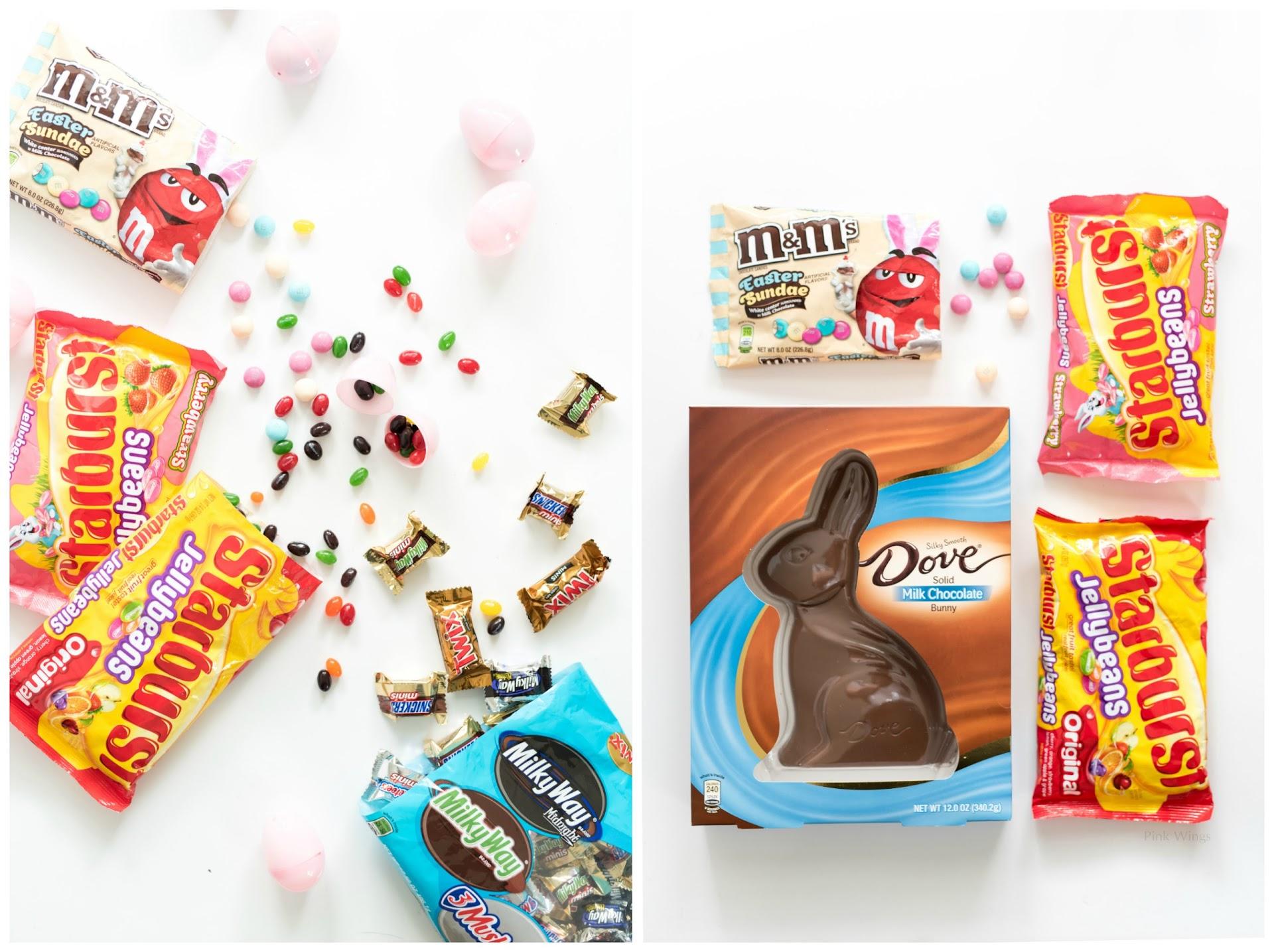 Easter candy ideas, easter basket fillers, easter basket ideas for adults, kids, teenagers, men