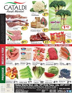 Cataldi Supermarket Flyer July 19 – 25, 2017