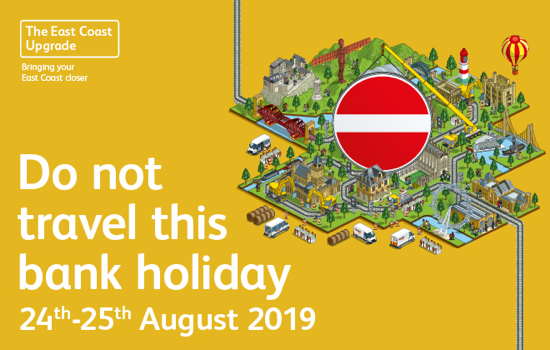 East Coast Main Line do not travel notice