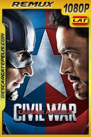 Capitán América: Civil War (2016) 1080P BDREMUX Latino – Ingles