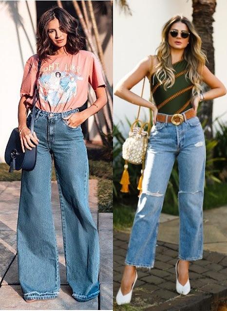 12 Looks inspiração com calça jeans, Viih Rocha, Thássia Naves