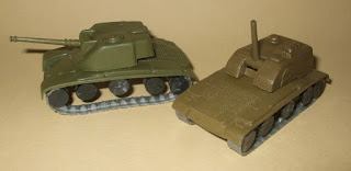 Airfix M40/43 SPG; Armoured Patrol; But Is It Giant?; Esci M12; Giant 3923. New York; Giant 3925; Giant 4123; Giant No. 260; Giant Or What?; Giant Plastics Corp.; Giant WWII AFV's; Half-Track; Jeep; Jeep And Trailer; Jr. Combat Emblem Set; Junior Combat Emblem Set; M12 SPG Cradle; M44/M53/55; M46/47 Hull; N.Y.; Pillbox Attack; Sherman; Small Scale World; smallscaleworld.blogspot.com; Space-Tank; SPG/Howitzer;