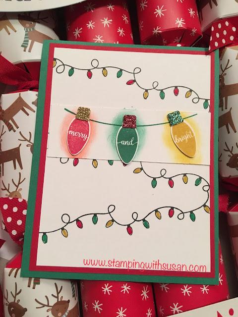 Stampin' Up!, www.stampingwithsusan.com, Making Christmas Bright