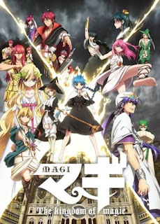 Magi: The Kingdom of Magic - Anime adventure terbaik Fall 2013