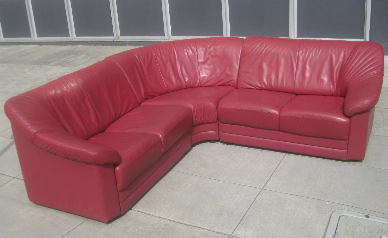 red leather sofas and chairs karlstad corner sofa cover green uhuru furniture collectibles sold