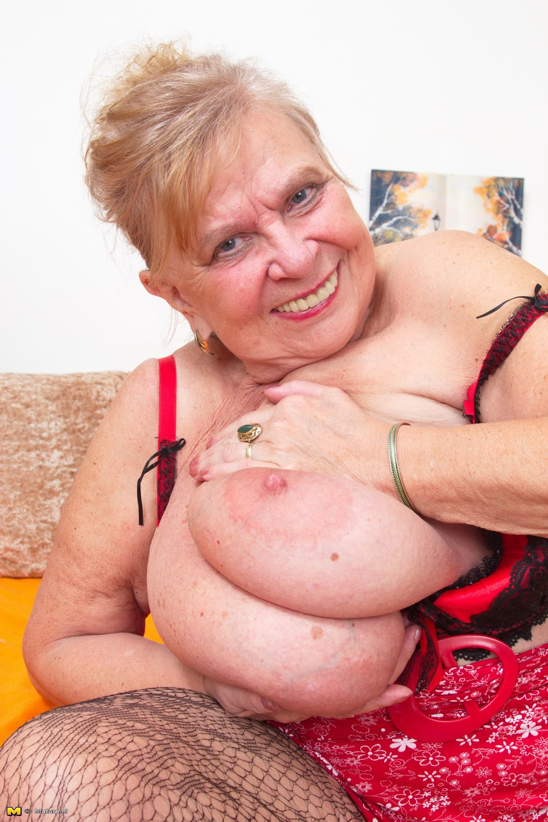 Bad big breasted grannys know