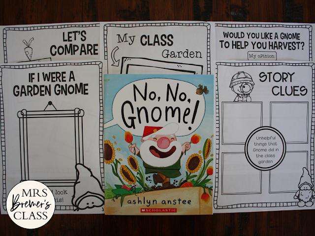 No No Gnome book study Common Core companion activities unit K-1