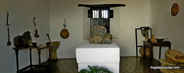 Fogão a lenha do Século 18, Casa Museu Antonio Ricaurte, em Villa de Leyva, Colômbia