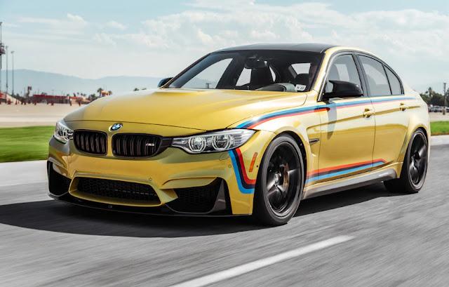 BMW M3 c M performance первое испытание с модификацией