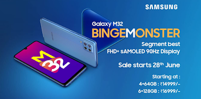 Samsung Galaxy M32 Price in India