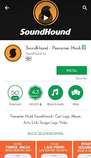 berfungsi untuk mengetahui judul dari sebuah musik atau lagu