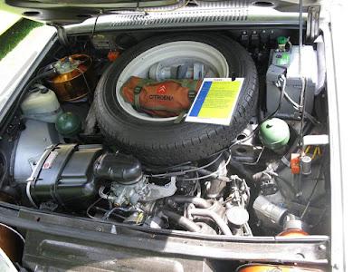 Suka duka memelihara mobil tua. Citroen GS
