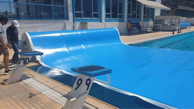 Παραλήφθηκε το ισοθερμικό κάλυμμα στο κολυμβητήριο του Δήμου Ναυπλιέων