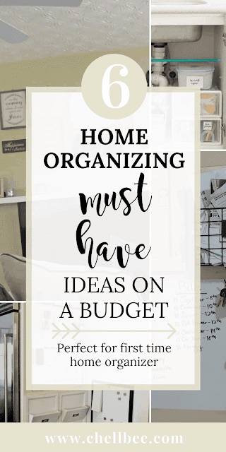 Home Hacks | Discover 6 simple hacks that will help you organize your home. These tips are perfect for thirty Moms or women looking for ways to easily tidy your home. small space organizing | bedroom organization | kitchen organization | organization ideas for the home | house organization ideas #organizing #organize #organization #homeOrganization #organizeYourHome