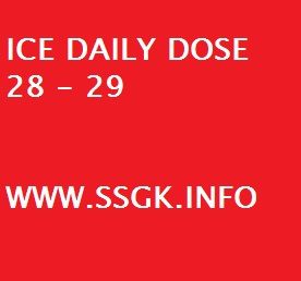 ICE DAILY DOSE 28 - 29