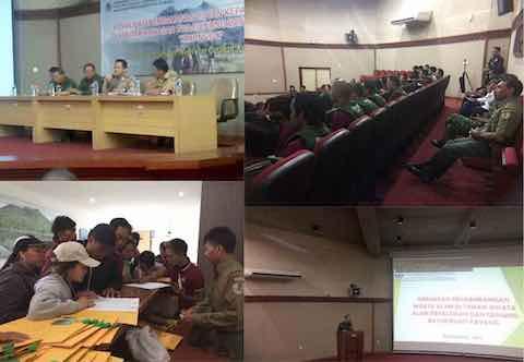 Sosialisasi Pengamanan Hutan TWA Gunung Batur Bukit Payang