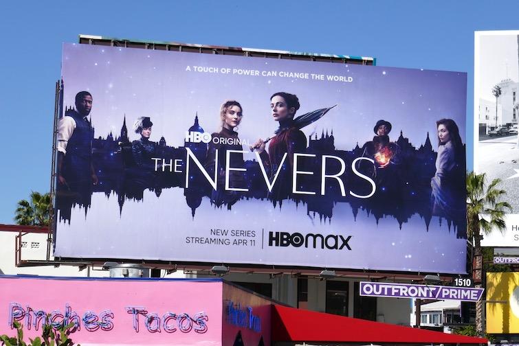Nevers series premiere billboard