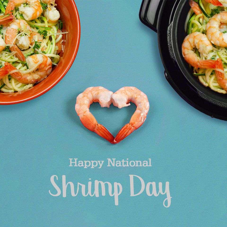 National Shrimp Day Wishes Unique Image