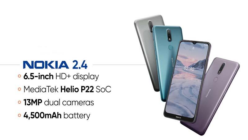 سعر و مواصفات Nokia 2.4