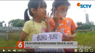 Miris! Korban Gusuran Proyek Tol Jokowi Minta-minta di Jalan, Butuh Makan dan Duit