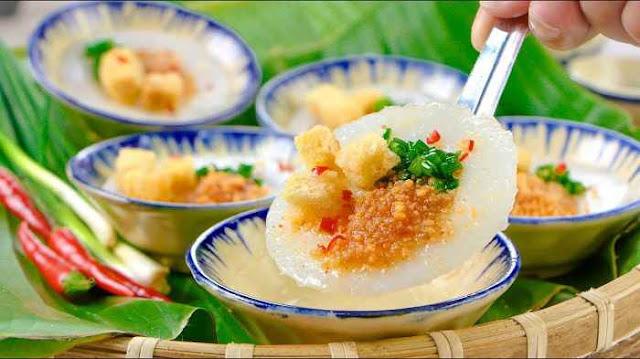 Bánh bèo chén Huế - một món ăn thể hiện sự tỉ mỉ, tinh tế trong ẩm thực Huế.  (Ảnh: wiki-travel.com.vn)