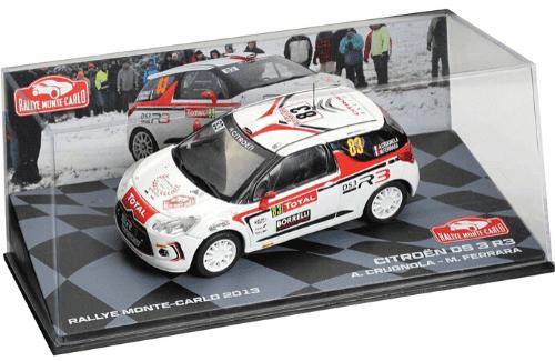 collezione rally monte carlo Citroën DS3 R3T 2013 Andrea Crugnola - Michele Ferrara