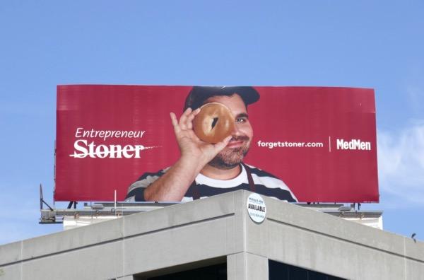 Entrepreneur Forget Stoner MedMen billboard