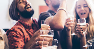 alcohol binge aggravate schizophrenia