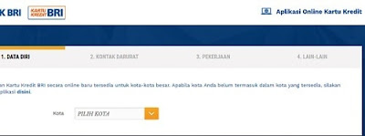 Apply Kartu Kredit BRI Online