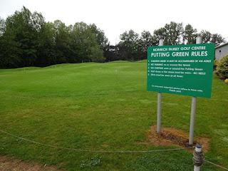 Putting Green at Norwich Family Golf Centre
