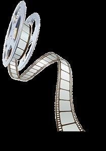 Rolos de Filmespelculas em PNG  Convites Digitais Simples