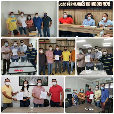 PENDÊNCIAS RN-Em volta ao Vale do Açu, George Soares entrega cerca de 1 milhão e meio de reais em emendas