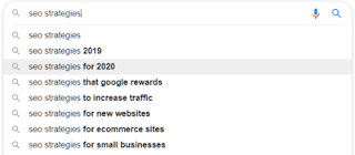 SEO Strategies : Google Search Results