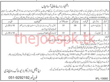Punjab Livestock Department Jobs 2021 for Veterinary Assistant