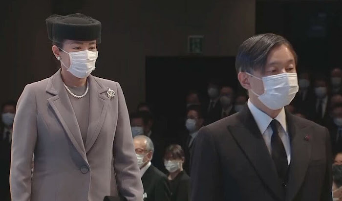Emperor Naruhito and Empress Masako attended the national memorial service
