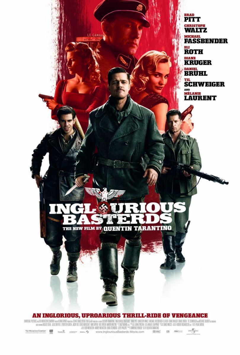 Download Inglourious Basterds (2009) Full Movie in Hindi Dual Audio BluRay 720p [750MB]