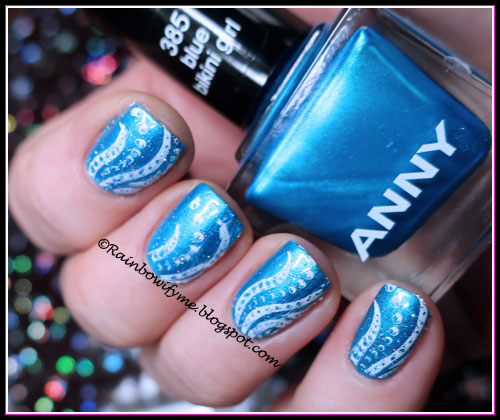 Anny ~ Blue Bikini Girl