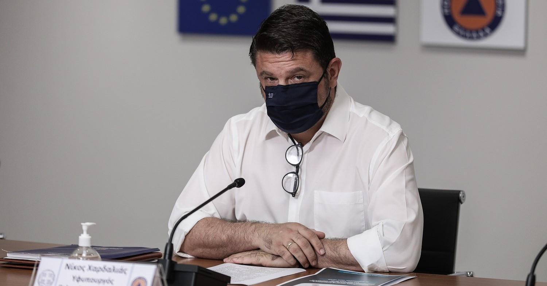 Κορονοϊός: Αυτά είναι τα νέα μέτρα που ανακοινώνει ο Χαρδαλιάς